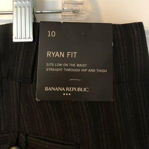 New! Banana Republic Ryan Fit s:10 black pants